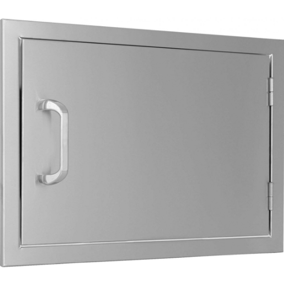 EPIC 260 Series 24-Inch Stainless Steel Right-Hinged Single Access Horizontal Door