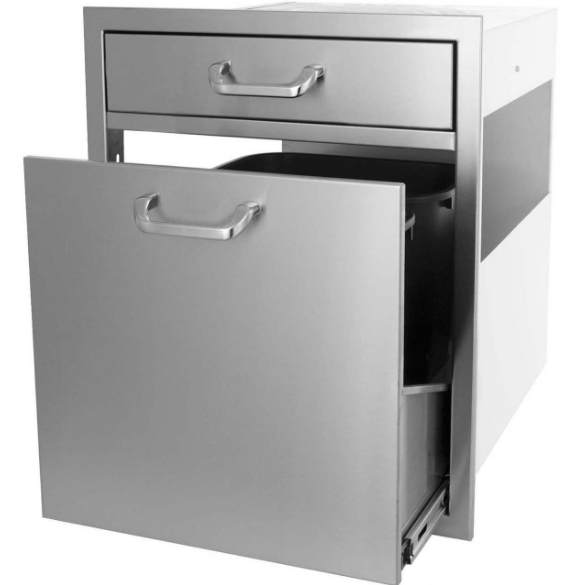 EPIC 260 Series 21-Inch Single Drawer/Trash Recycle Rollout