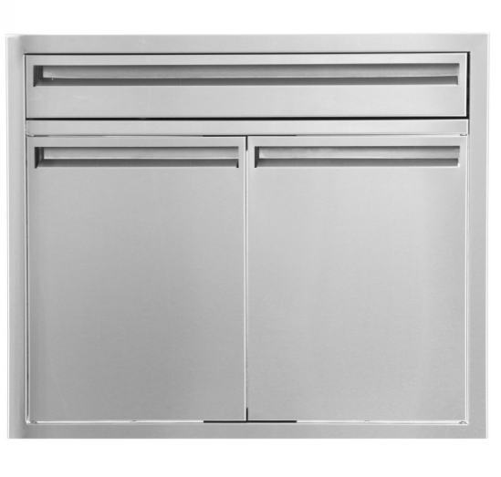 EPIC 350 Series 30-Inch Stainless Steel Double Door & Drawer Combo