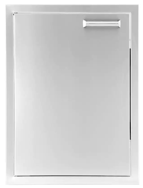 EPIC 350H Series 17-Inch Stainless Steel Left-Hinged Single Access Vertical Door