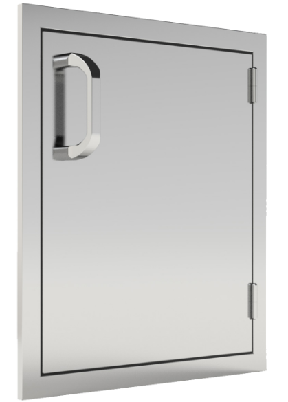 EPIC 260 Series 18-Inch Stainless Steel Right-Hinged Single Access Vertical Door