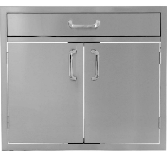 EPIC 260 Series 30-Inch Stainless Steel Double Door & Drawer Combo