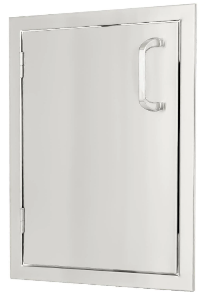 EPIC 260 Series 17-Inch Stainless Steel Left-Hinged Single Access Vertical Door