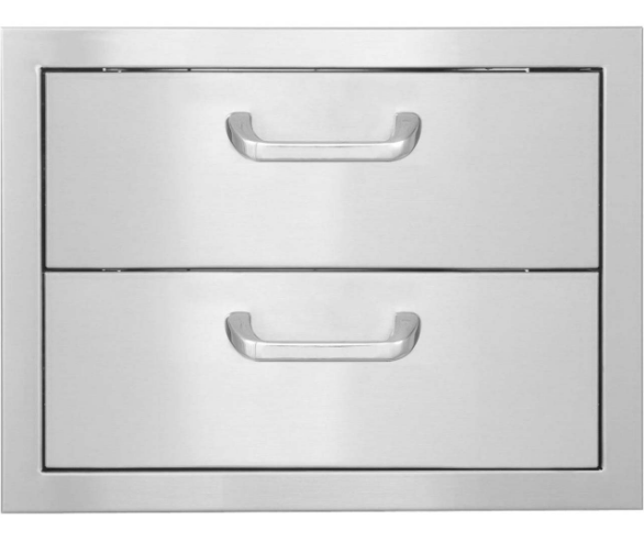 EPIC 260 Series 20-Inch Stainless Steel Double Access Drawer