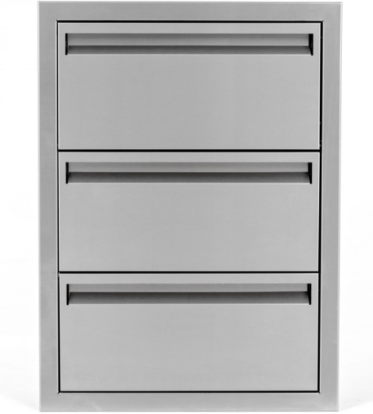 EPIC 350 Series 20-Inch Stainless Steel Triple Access Drawer with Paper Towel Dispenser