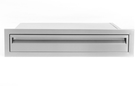 EPIC 350 Series 30-Inch Narrow Stainless Steel Single Access Drawer