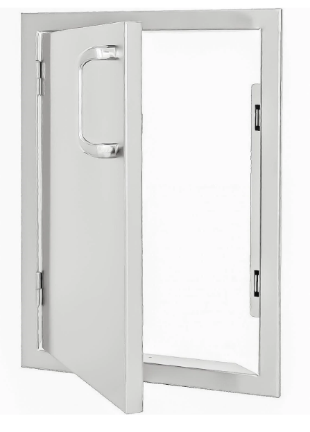 EPIC 260 Series 14-Inch Stainless Steel Left-Hinged Single Access Vertical Door