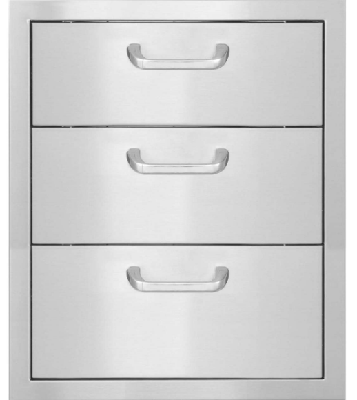 EPIC 260 Series 20-Inch Stainless Steel Triple Access Drawer