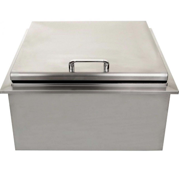 EPIC 400 Series 15-Inch Stainless Steel Drop-In Ice Bin Cooler