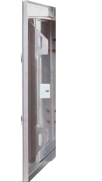 EPIC 260 Series 20-Inch Stainless Steel Right-Hinged Single Access Horizontal Door