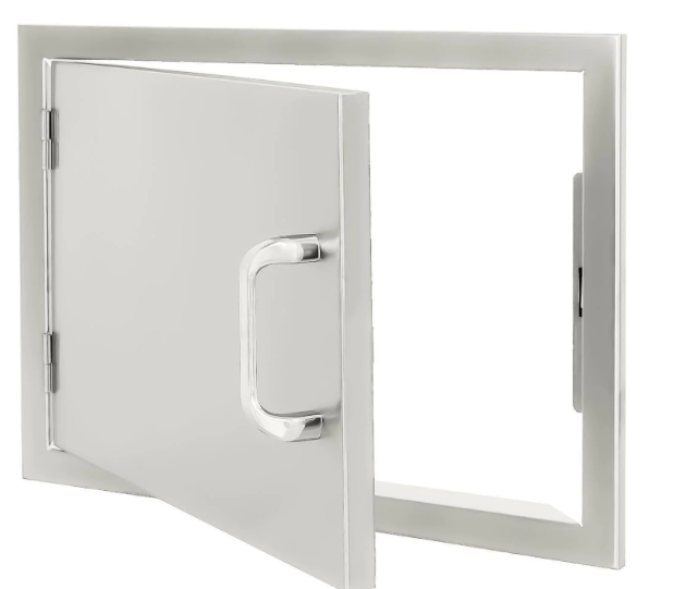 EPIC 260 Series 20-Inch Stainless Steel Left-Hinged Single Access Horizontal Door
