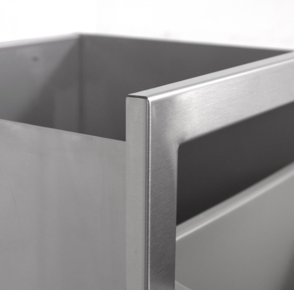 EPIC 350 Series 20-Inch Stainless Steel Trash Recycle