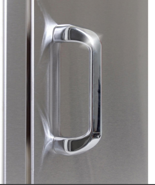 EPIC 260 Series 21-Inch Stainless Steel Right-Hinged Single Access Vertical Door