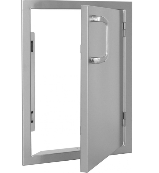 EPIC 260 Series 17-Inch Stainless Steel Right-Hinged Single Access Vertical Door