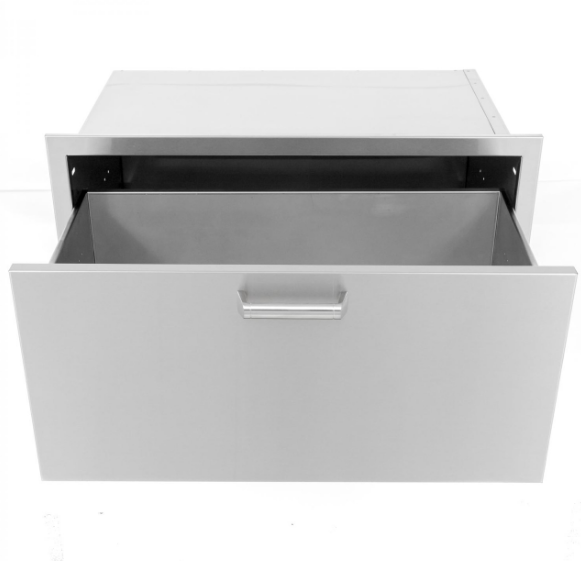 EPIC 350H Series 30-Inch Stainless Steel Single Access Drawer