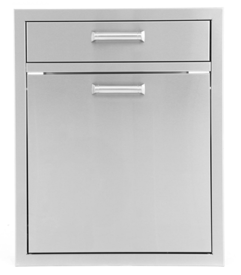 EPIC 350H Series 21-Inch Single Drawer and Trash Recycle Rollout