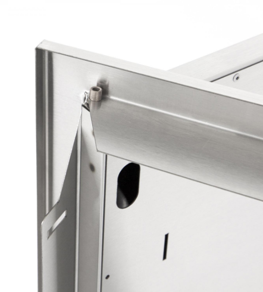 EPIC 350H Series 48-Inch Stainless Steel Double Access Door