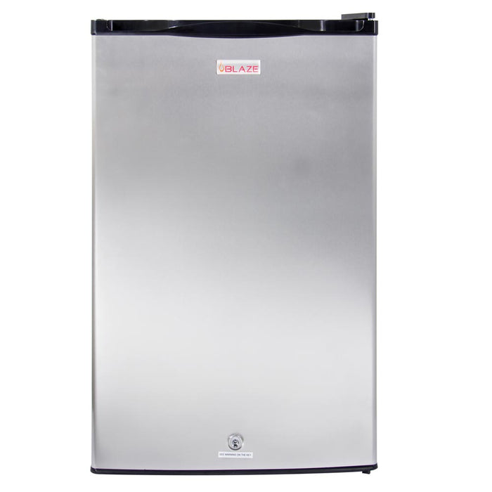 Blaze 4.5 Cu. Ft. and 20-Inch Outdoor Rated Stainless Steel Compact Refrigerator