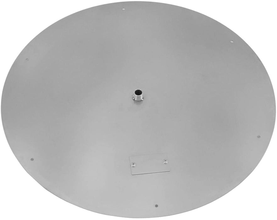 Firenado Stainless Steel 36-Inch Flat Round Burner Pan