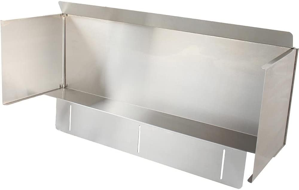 Blaze Stainless Steel Wind Guard For 40-Inch 5-Burner Gas Grills