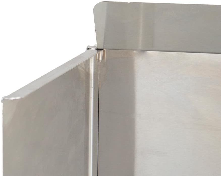 Blaze Stainless Steel Wind Guard For 25-Inch 3-Burner Gas Grills