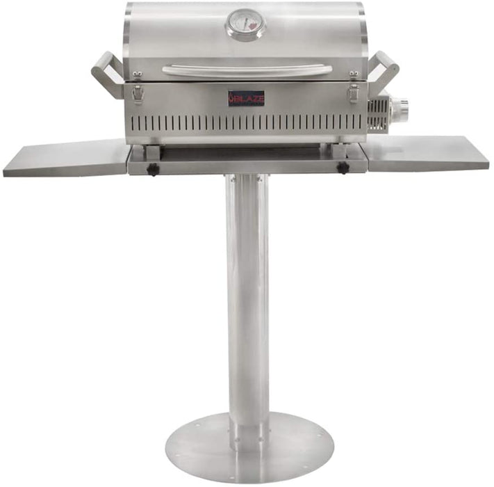 Blaze Professional Stainless Steel 17-Inch Portable Grill Pedestal