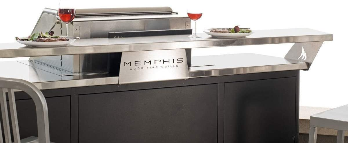 Memphis Grills Elite Grills Outdoor Island Bar Top