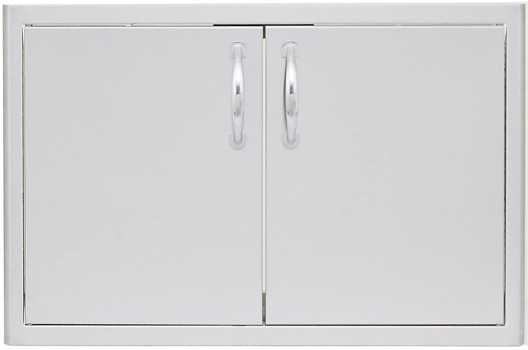 Blaze Stainless Steel 32-Inch Double Access Door With Paper Towel Holder