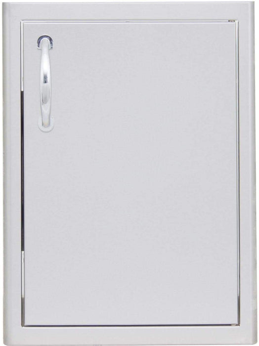 Blaze 21-Inch Stainless Steel Right Hinged Single Access Vertical Door