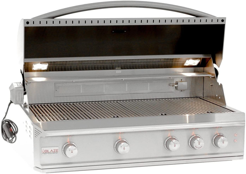 Blaze Professional 44-Inch 4-Burner Liquid Propane Gas Grill with Cart