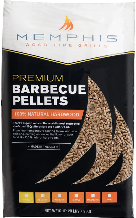 Memphis Grills All-Natural Hard-Wood Apple Flavored Smoker Pellets