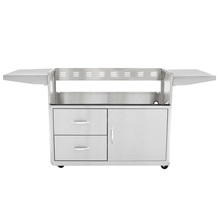 Blaze Cart For Professional 4-Burner Grill, Cart Only