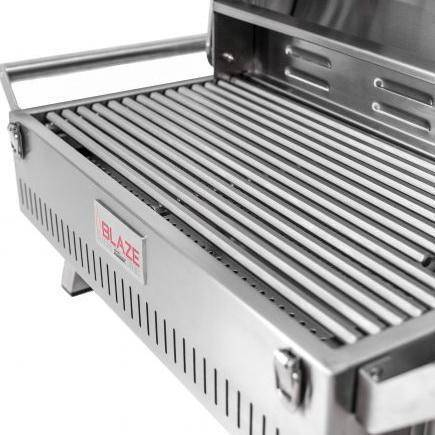 Blaze Professional Marine Grade Portable Liquid Propane Gas Grill On Pedestal