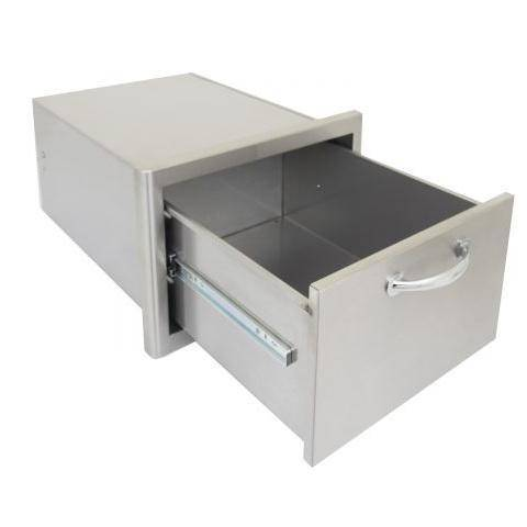 Blaze Stainless Steel 16-Inch Single Access Drawer