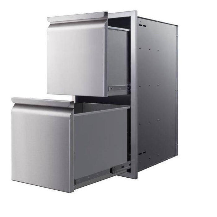 Memphis Grills 15-Inch Double Access Drawer