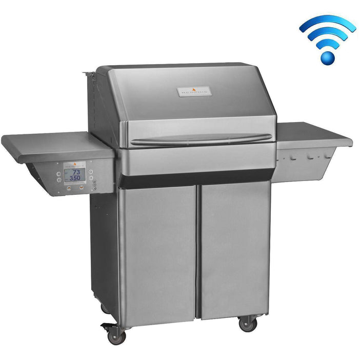 Memphis Grills Pro 28-Inch Stainless Steel Wi-Fi Controlled Pellet Grill