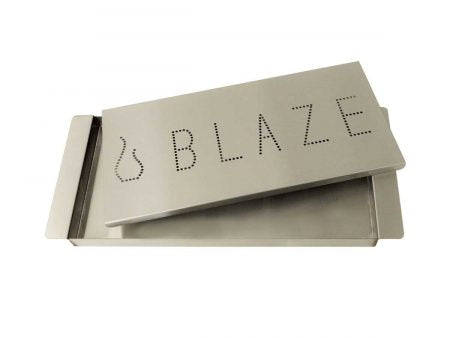 Blaze Extra Large Stainless Steel Traditional Smoker Box