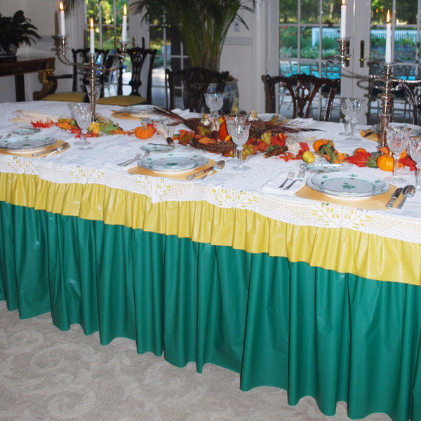 Valances For Party Tables - Available in 3 sizes **BLOW OUT SALE