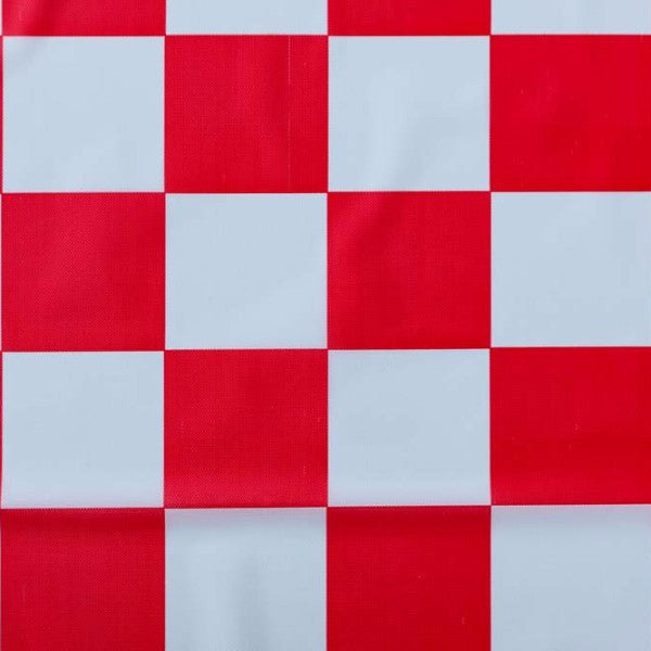 ... Red Checkered Tablecloth ...