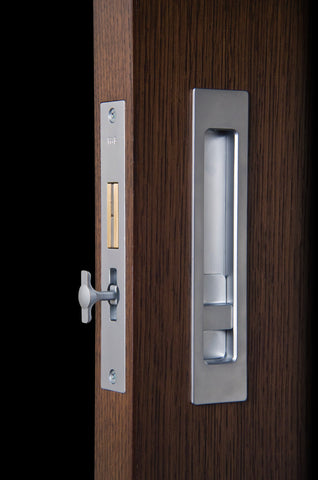 Halliday Baillie Modern Pocket Door Hardware That Doesn