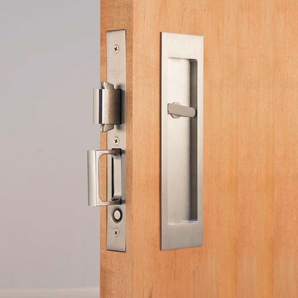 model 312814 Accurate 2002CPDP pocket door mortise pull