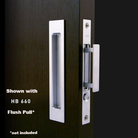 Pocket Door Pulls Hb 680 Push Button Edge Pull Better Building