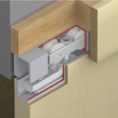 Picture of Junior 80/B Sliding Door Hardware