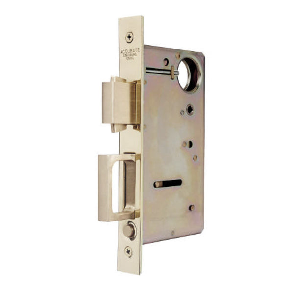 accurate pocket door privacy lock set with rectangular flush pulls