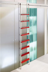 SL.6003.AK Telescoping Rolling Ladder