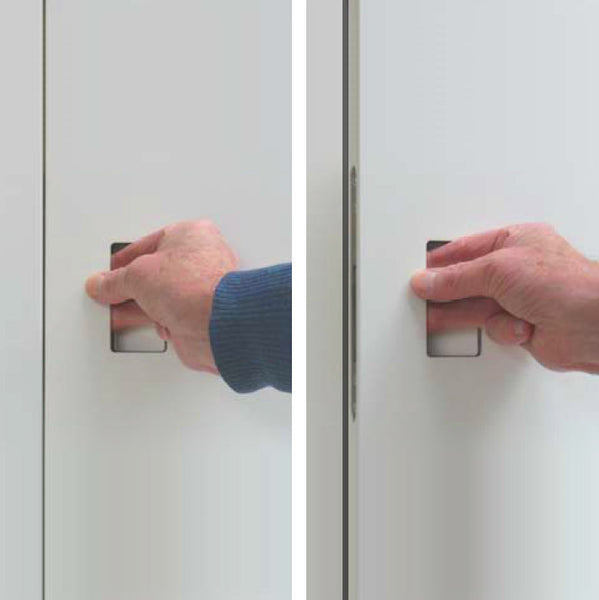 Invisible Door Handle Hpl Doors Uk Cabinet Invisible