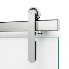 ODEN Glass-Mounted Sliding Door Hardware : Sealed Bearings