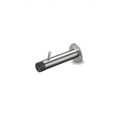 d line 70mm Wall Door Stop with Coat Pin