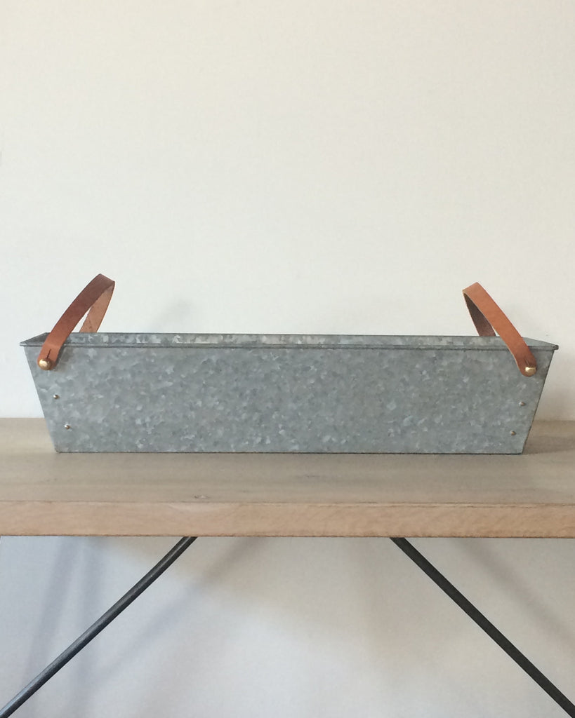 Galvanized Metal Hanging Bins