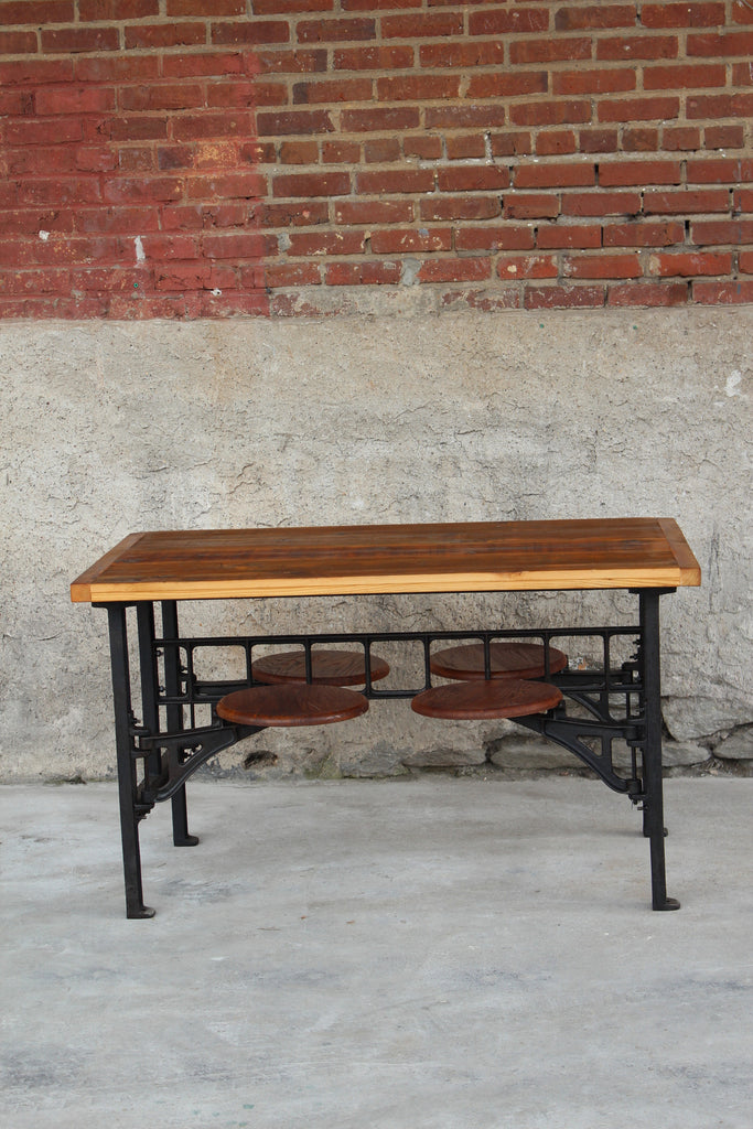 Cafeteria Table - Vintage Industrial Style